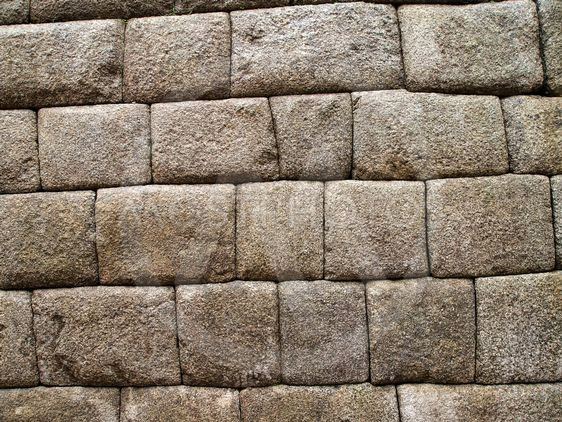 Detail of Inca wall