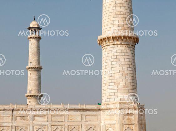 Minaret of the Taj Mahal
