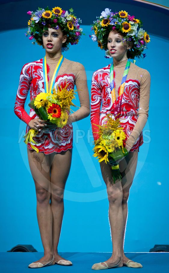 Margarita Mamun and Yana Kudryavtseva of Russia