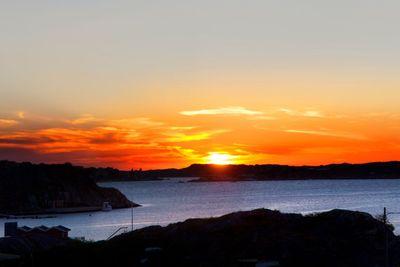 Sunset at Stora Varholmen