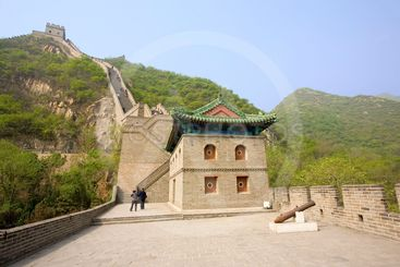 chine; beijing : grande muraille