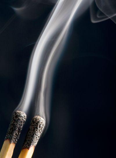match and smoke