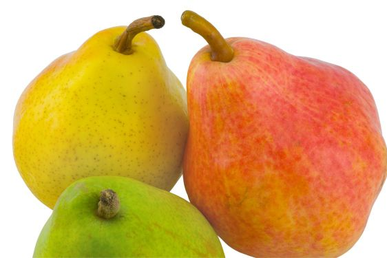 three full pears