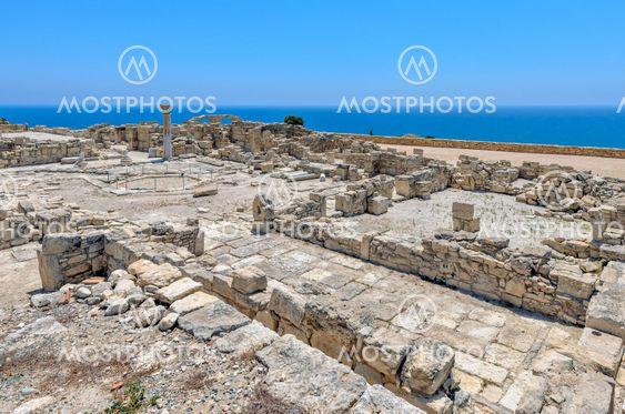 Ruinerne af en tidlig kristen basilika på Cypern