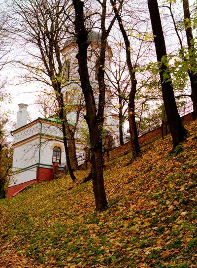 old-time castle