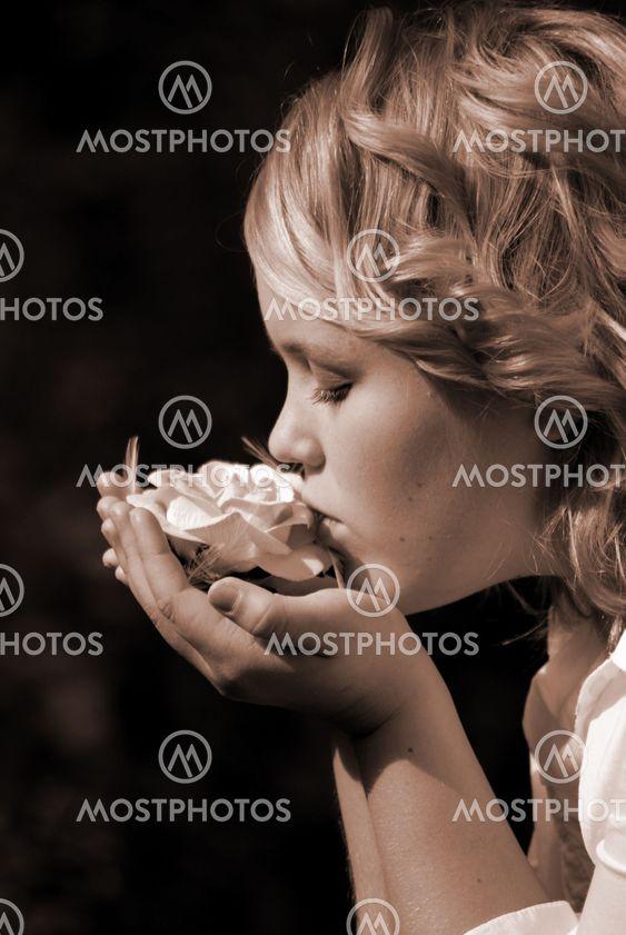 Kys fra en rose