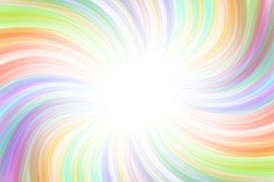 Beautiful rainbow swirl background