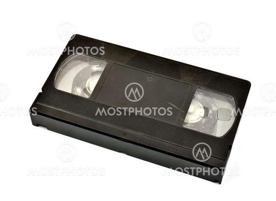 Gamle vhs video kassette