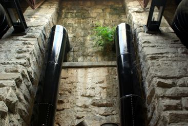 Hydro Electric Intake Pipes