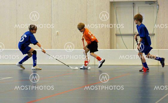 Floorball match 1