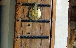 Door from Dubai museum