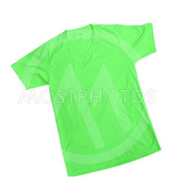 Green Tshirt Template