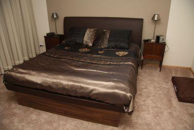 Modern bedroom - interior design