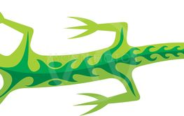 Tribal Lizard Green