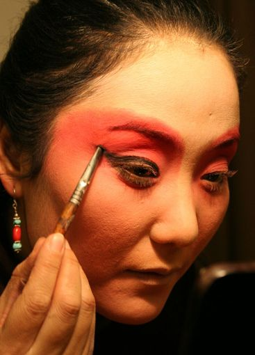 In the make-up