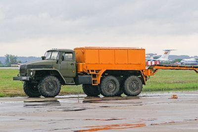 Air field starting APA-5D truck Ural-375D.