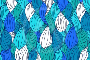 Seamless abstract hand-drawn pattern.