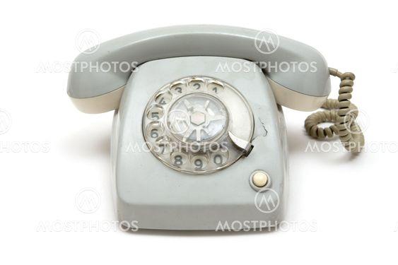 Grungy vanha puhelin