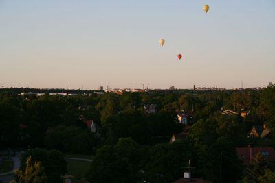 Balloonride over Stockholm
