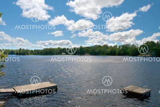 Beautiful lake of Toronto