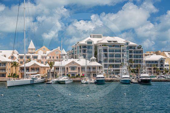 Yachts at Bermuda Hotels