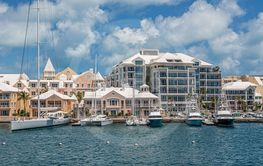 Yachts at Bermuda Hotels