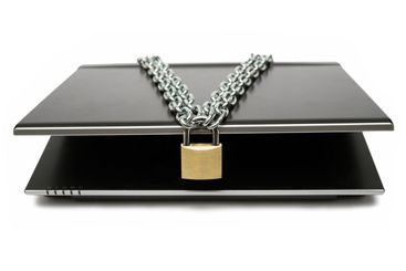 Locked Mobile Computer