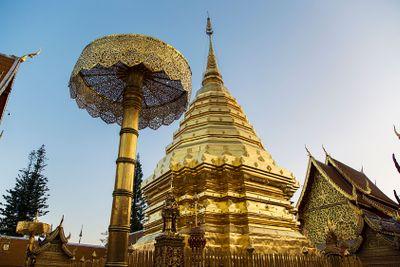 Wat Phra That Doi Suthep temple in Chiang Mai