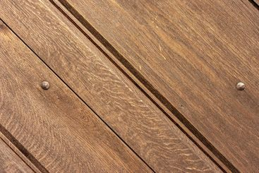 light brown wood panels