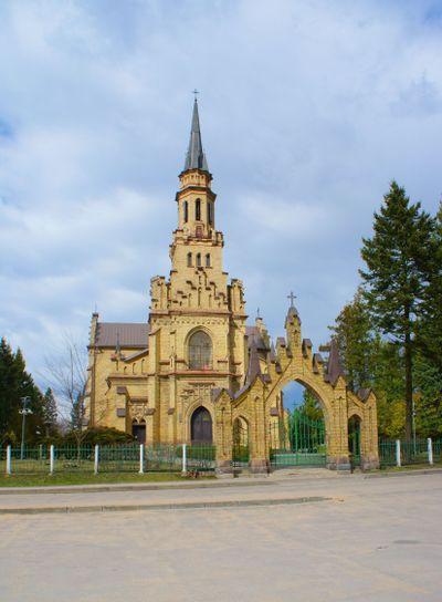Catholic church in beautiful place