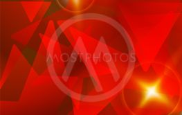 red star abstract vector background