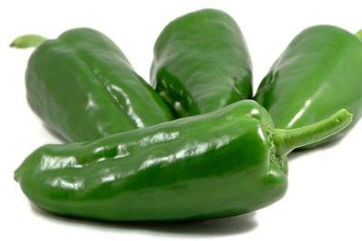 Green papricas