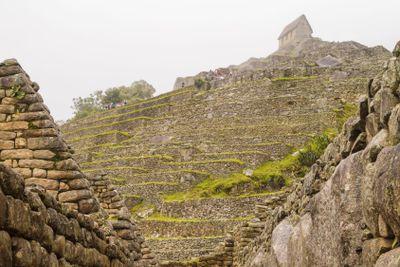 Watchman's hut in Machu Picchu