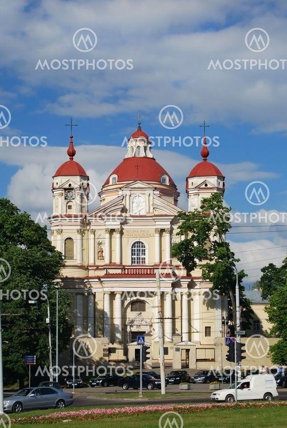 St. Peter og Skt. Paul's kirke i Vilnius