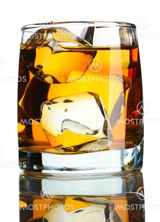 Skotsk whisky on the Rocks