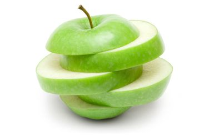 Sliced Green Apple