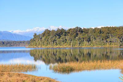 Lake Mahinapua, West Coast, NZ.