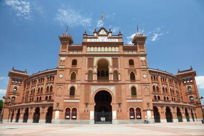 Madrid bullring Plaza de Toros de Las Ventas