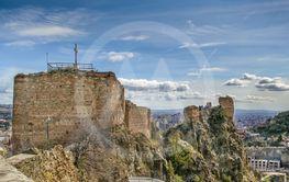 Narikala fortress, Tbilisi, Georgia