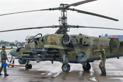 Russian helicopter Ka-52 (alligator) -4