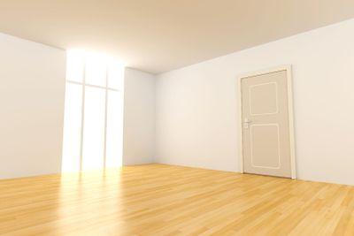 Door in a empty room
