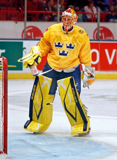 Jacob Markström ishockeymålvakt Tre Kronor 1