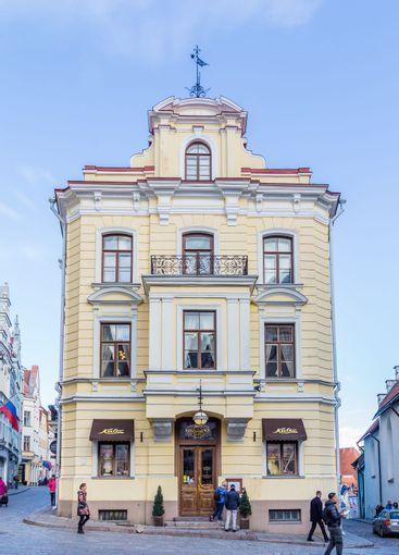 Oldest cafe of Tallinn Estonia