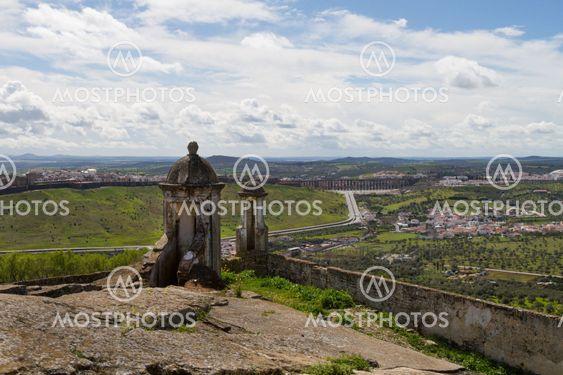 Elvas aerial view