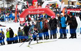 Second place Anna Haag, Anna & Emil sports club, at...