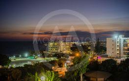 Night view of Ayia NAPA, Cyprus.