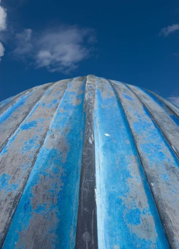 Upturned Hull of a Rowing Boat