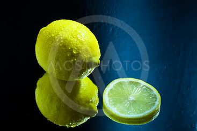 Lemon and a Slice reflection