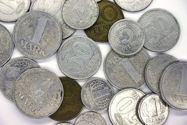 Old GDR coins