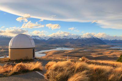 Mount John Observatory, New Zealand.